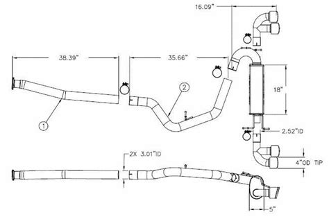 2001 Subaru Forester Exhaust System Diagram by 2001 Subaru Impreza Exhaust System Diagram