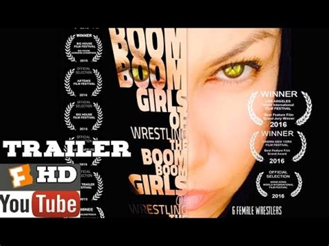boom boom girls  wrestling official main trailer  full hd youtube