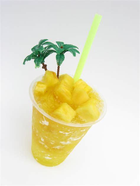 pina raspado frutti hielo