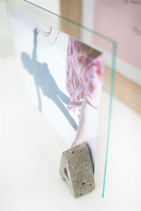 Runde Bilderrahmen Selber Machen by Diy Challenge Beton Glas Bilderrahmen Mit