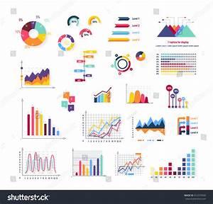 Data Tools Finance Diagram Graphic Chart Stock Vector 412373950