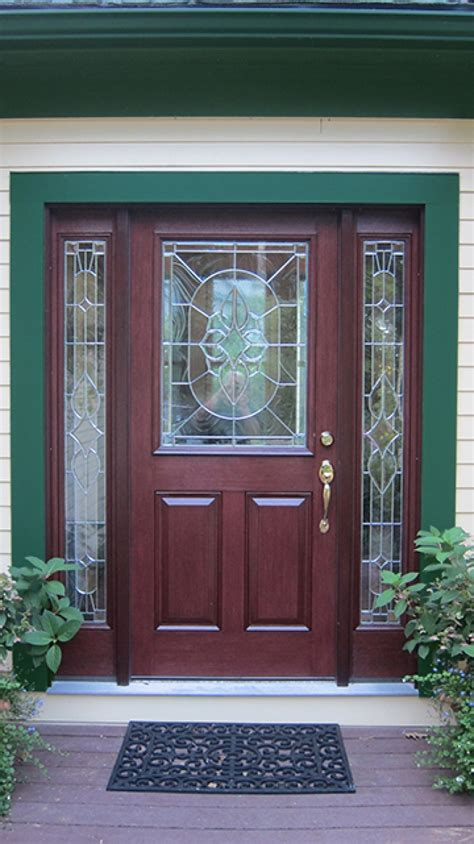 therma tru door entryway makeover with therma tru 174 and fypon 174 products