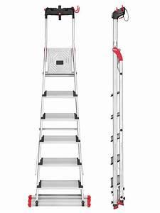 Hailo Leiter 8 Stufen : hailo stehleiter xxl garden home easyclix 6 stufen ~ Buech-reservation.com Haus und Dekorationen