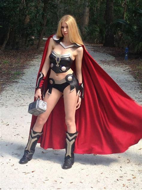 Lady Thor Geek Girls And Cosplay Thor Cosplay Female