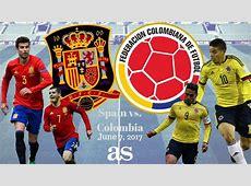 Spain v Colombia live online International friendly AScom