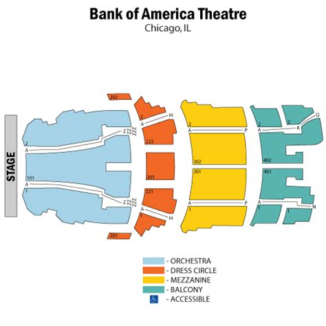 chicago theater seat map swimnova bank of america stadium tickets maps events seating chart