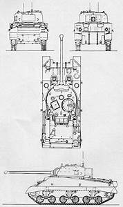 Schematic Diagram Of A Sherman Firefly Converted From The