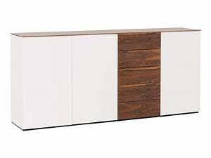 Sideboard Mit Tischfunktion : sideboard timber von mab holz holzfarbig pushbeschl ge ~ Michelbontemps.com Haus und Dekorationen