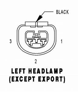 Wiring Diagram For Headlight Harness On 2004 Chrysler