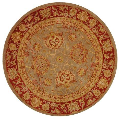4 ft area rugs safavieh anatolia grey 4 ft x 4 ft area rug