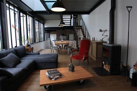 renover un canapé atelier loft ouest parisien industriel salon