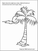 Coloring Tree Palm Pages Patterns Prayer Printable Colouring Christmas Discover Abcteach Embroidery Hand Rug Painting sketch template