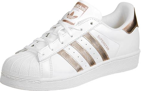 adidas Superstar W shoes white copper