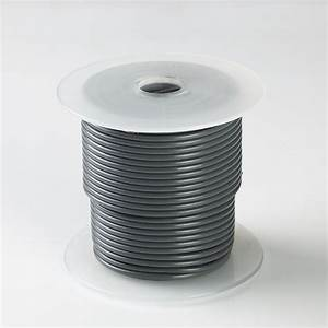 100ft Gray High Performance 16 Gauge Awg 12v Primary Wire