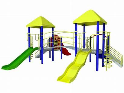 Playground Clipart Outside Outdoor Clip Cartoon Play