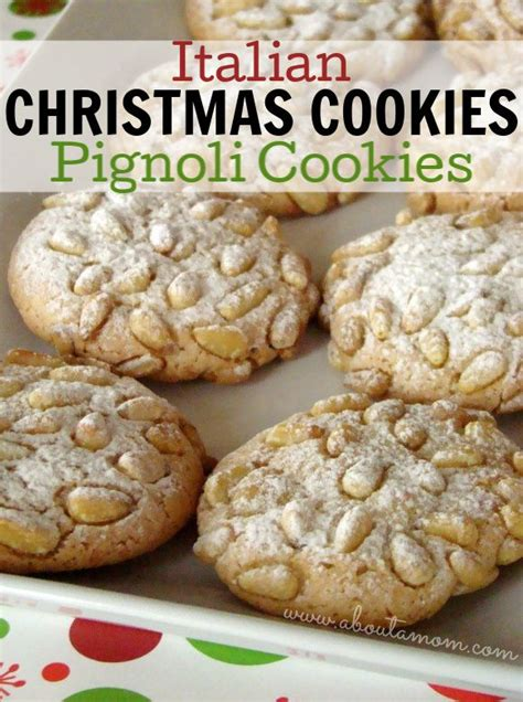 Here are 10 delicious cookie recipes that are perfect for winter holiday tables. Italian Christmas Cookies - Pignoli cookies also known as pine nut cookies is a macaroon typical ...
