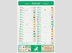 Koledar januar 2018 2019 2018 Calendar Printable with