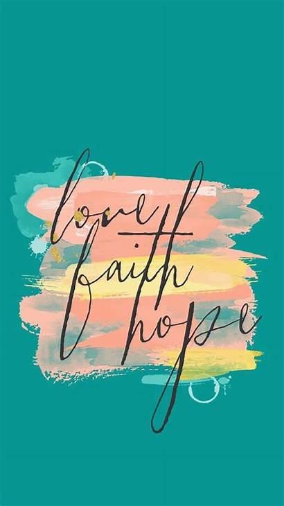Backgrounds Wallpapers Faith Hope Phone Christian Bible