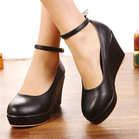 comfortable heels for plus size fashion new arrival sweet comfortable wedges single shoes