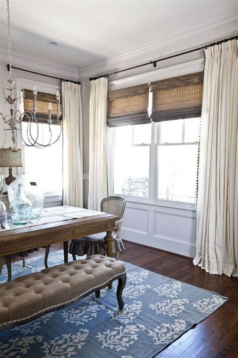 curtains   dining room eclectic diycraft