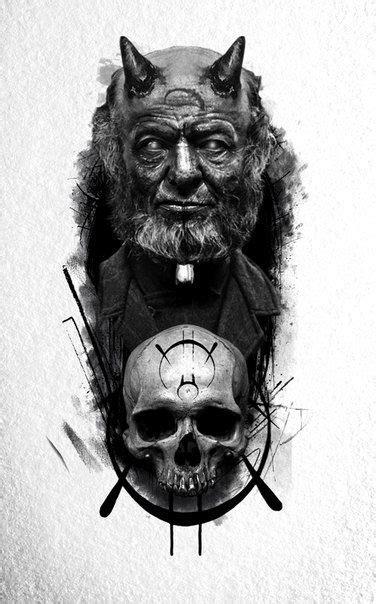 Pin by quantattoo on 组合图 | Satanic tattoos, Ink tattoo