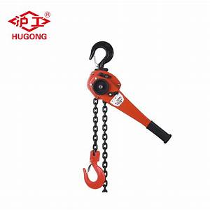 China Va Series 1 5 Ton Lever Hoist Chain Block