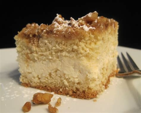 cream cheese filled crumb cake recipe genius kitchen