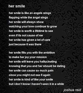 Her Smile Poem by joshua reid - Poem Hunter