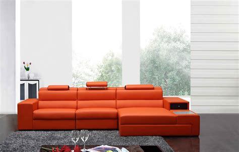 divani casa polaris mini contemporary bonded leather