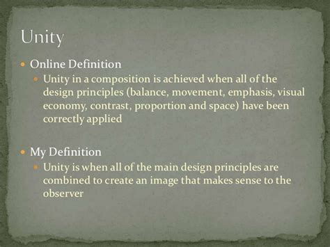 Design Definition by Principles Of Design Proximity And Unity