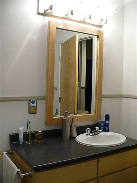 Maple Bathroom Mirror by Loft Bathroom Mirror Solid Maple And Made By
