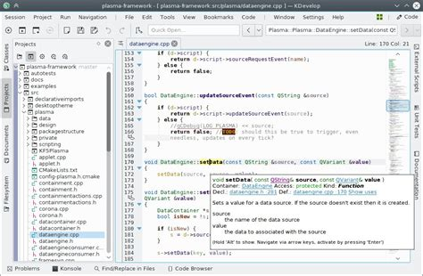 kdevelop 5 0 open source ide officially released with new c c language support