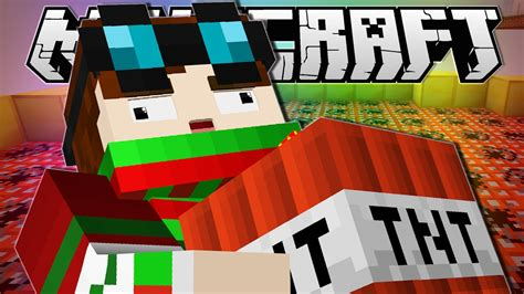 minecraft blow   total house bombover custom map youtube