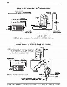Basic Hot Rod Engine Hei Wiring Diagram And Msd Ignition