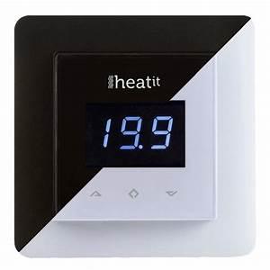 Thermostat Radiateur Electrique : heatit thermostat z wave pour radiateurs et chauffage ~ Edinachiropracticcenter.com Idées de Décoration