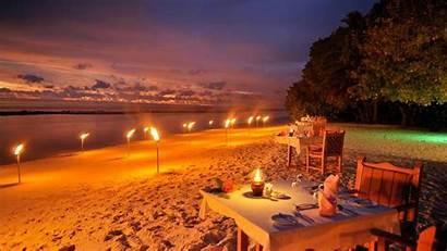 Island Resort Romantic Night Royal Maldives Bar