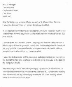 Employee Resignation Letter Hospi Noiseworks Co