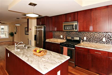 cherry wood cabinets with granite countertop granite countertop colors with cherry cabinets