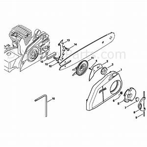 Stihl Ms 250 Chainsaw  Ms250 Z  Parts Diagram  Quick Chain