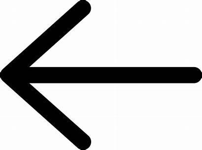 Icon Arrow Left Svg Onlinewebfonts