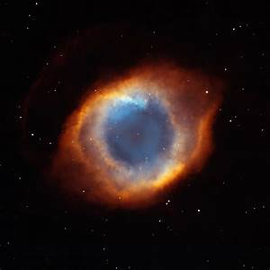 Helix Nebula, NGC 7293 by Hubble - Star Image View