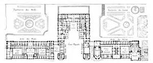 chateau floor plans floor plan of the château de versailles drawings blueprints versailles