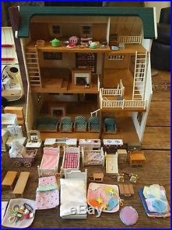 calico critters deluxe house lot calico critters deluxe house furniture 18