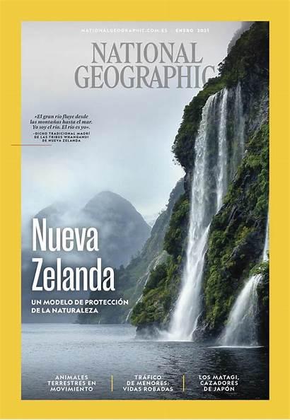 National Geographic Enero Espana Zelanda Nueva Geo