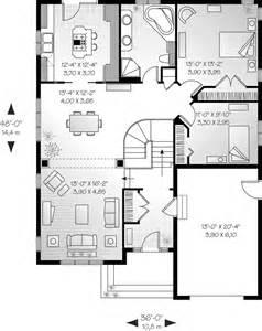kitchen island blueprints wanette cottage home plan 032d 0394 house plans