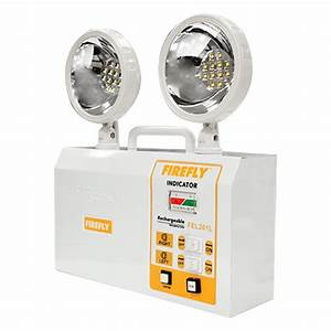 Rechargeable Twinhead Emergency Lamp