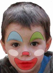 Maquillage Simple Enfant : die besten 25 clown schminken kind ideen auf pinterest fasching clowngesicht schminken ~ Farleysfitness.com Idées de Décoration