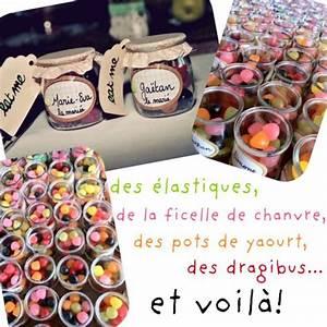 Cadeaux Invités Mariage Fait Maison : mariage bonbon and marque place on pinterest ~ Preciouscoupons.com Idées de Décoration
