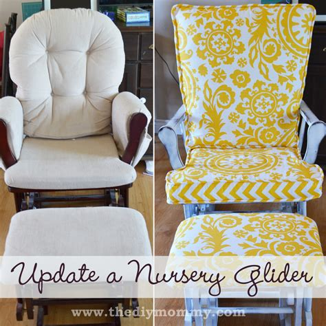 nursery glider rocking chair the diy