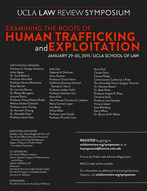 Examining The Roots Of Human Trafficking And Exploitation